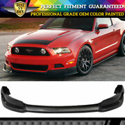 Fit 13-14 Ford Mustang Gt Convertible Front Bumper Lip Spoiler Oem Painted Match