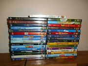 Lot Of [33] Disney Dvd Kids/family Movies] Nemo Toy Story] New + I Ship Faster