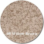 Marideck Boat Marine Outdoor Vinyl Flooring - 34 Mil - Willow Brown - 8.5and039x25and039