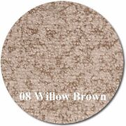 Marideck Boat Marine Outdoor Vinyl Flooring - 34 Mil - Willow Brown - 8.5and039x26and039