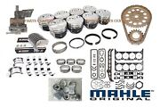 Chevy 454 Performer Engine Kit Crank+rods+dome Pistons+rings+bearings+gaskets+
