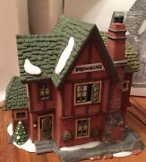 Heritage Village Collection Dickens Series Browning Cottage Christmas 58246