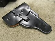 Walther P38 P1 Leather Holster Post Ww2 Military Unissued West German Issue