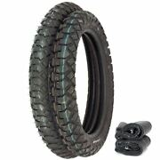 Irc Gp-110 Dual Sport Tire Set - Honda Xr350r/500r/600r Xl600r - Tires And Tubes