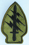 Vintage German Made Us Special Forces Shoulder Insignia / Patch 10th Sfg Patch