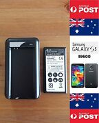 Samsung Galaxy S5 I9500 Black Charger Dock Kit Includes Battery -local Brisbane