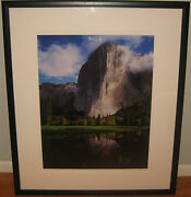 Fine Marc Muench And039el Capitan Reflectionsand039 Yosemite Signed Photograph - Listed