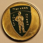 71st Aerospace Rescue And Recovery Alaska Air Force Pararescue Challenge Coin / Pj