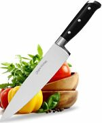 Chef Knife 8 Cooking Knife Carbon Stainless Steel With Sheath Utopia Kitchen