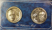1972 Theodore Roosevelt And William Taft Silver Medal Set The Wittenauer Mint