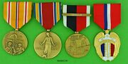 Wwii Army Medals Pacific Theater - Philippines Liberation Occupation Japan