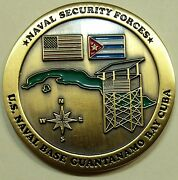 Naval Base Guantanamo Bay Gtmo Navy Security Forces Challenge Coin