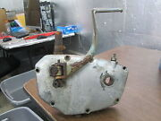 Vintage Puch Rh Right Crankcase Cover And Kick Pedal 1973 - 1975 Bassotto 125