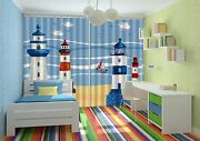 3d Lighthouse 33blockout Photo Curtain Printing Curtains Drapes Fabric Window Ca