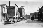 Photo. 1924. Los Angeles Ca. Ceres Street And 5th - Homes And Autos