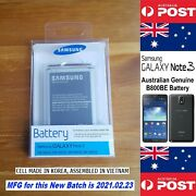 Australian Genuine Retail Samsung Note 3 B800be Battery Without Nfc Local Seller