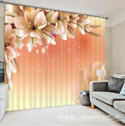 3d Flowers 526 Blockout Photo Curtain Printing Curtains Drapes Fabric Window Au