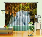 3d Waterfall 33 Blockout Photo Curtain Printing Curtains Drapes Fabric Window Au