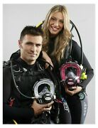 Ocean Reef G Diver Extender Full Face Mask W/2nd Stage Regulator And Comm System
