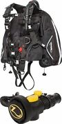 Zeagle 911 Bcd Wripcord System And Octo Z Ii Integrated Octo/inflator
