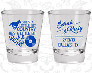 Wedding Party Shot Glasses Funny Shot Glass 468 Rock And Roll Wedding Favors