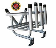 Plattinum Jet Ski Fishing Rod Rack Cooler Holder Ski Leg Design Made In Usa