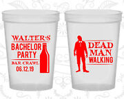 Bachelor Party Stadium Cups Cup Favors 40011 Dead Man Walking Bar Crawl