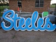 Steeles Store Sign 119