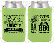 Bachelorette Party Koozies Favors Decorations 60035 Barbecue Bbq Country