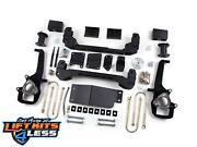 Zone Offroad D4n 6 Suspension System Lift Kit For 2006-2008 Dodge Ram 1500 4x4