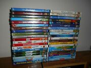 Lot Of 40 Disney Dvd Kids/family Movies Frozen Tangled + 38 More New Fast Ship