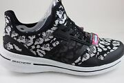 Skechers Womenand039s Burst 2.0-game Changing Black/white 12658/bkw With Memory Foam
