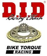 Triumph 675 Daytona 520 Race 06-12 Did Track Day Chain And Sprocket Kit
