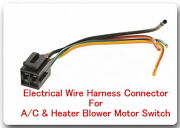 4 Wire Pigtail Electrical Harness Connector For A/c And Heater Blower Motor