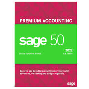 Sage 50 2021 Premium 5 User Not A Subscription Download + Unlimited Support