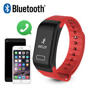 Fitness Tracker Step Counter Sleep Monitor With Call Sms Reminder Smart Watch