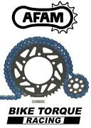 Ducati 1199 Panigale/s 520 + Pcd 12-14 Afam Upgrade Blue Chain And Sprocket Kit