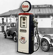 Esso Model 39 Tokheim Full Size Gas Pump-vintage Styling-put Tiger In Your Tank