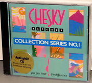 Chesky Cd Pjd 1002 Sampler Various - Collection Series No. 1 - 1993 Usa Sealed