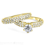Engagement Round Diamond Ring D/si1 Ct Rdac-16 Accents Round Enhanced