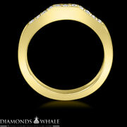 Si1/d 1.25 Tc Yellow Gold Enhanced Round Bridal Diamond Ring Solitaire Accents