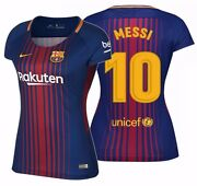 Nike Lionel Messi Fc Barcelona Womenand039s Home Jersey 2017/18