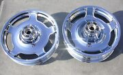 Harley Davidson Street Glide Air Strike 2010-2013 Chrome Wheels Rim Set Outright