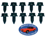 Ford Body Fender Grille Factory Correct 5/16-12 Bolts With Threaded Point 10pc S