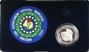 1997 Proof National Law Enforcement Officers Memorial Silver Dollar Coin No Pin