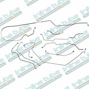 1970 Grand Prix Complete Power Disc Hydraulic Brake Line Kit Set Tubes Stainless