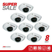 Sale 8 Hikvision Ds-2cd2510f Hd Mini Dome Network Camera,1.3 Mp, 4mm Lens, Poe