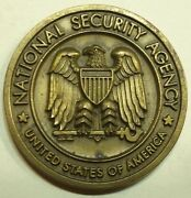 National Security Agency Nsa/css Senior Enlisted Advisor 1990s Challenge Coin