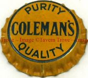 1930s Denbighshire Wales Colemanand039s Mineral Water Bottler Crown Tavern Trove