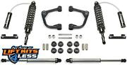 Fabtech K2197dl 2 Upper Control Arm Liftkit W/dl Shock For 09-13 Ford F-150 4wd
